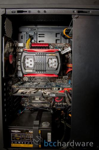 Thermaltake NiC C5 Installed