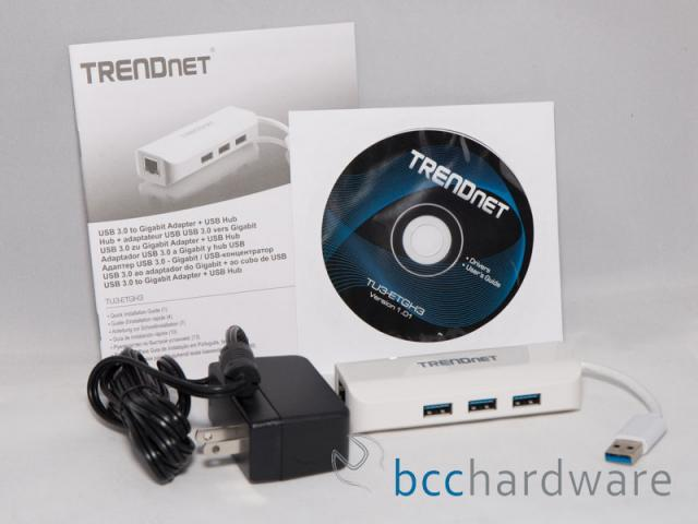 Trendnet TU3-ETGH3 Bundle