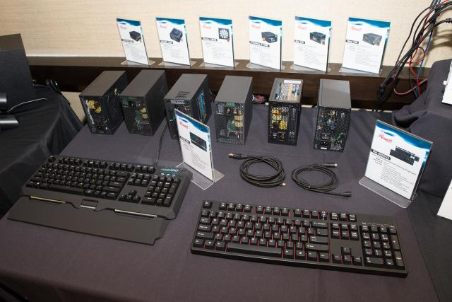 Keyboards and PSUs