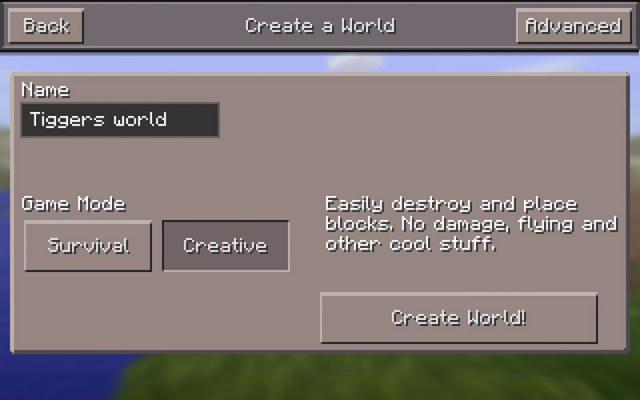 Create World