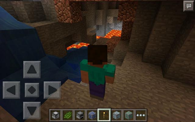 Inside Lava Cave