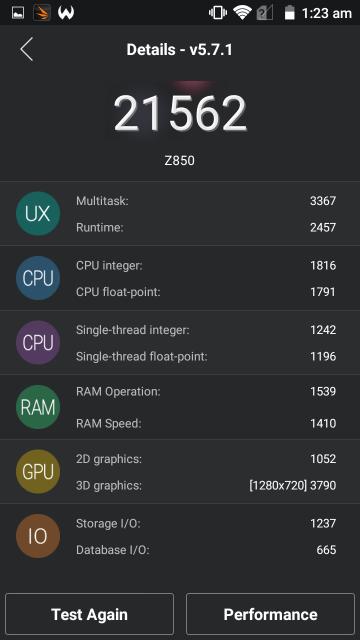 AnTuTu - Z850 Grand X 2