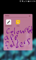 coulful app folders