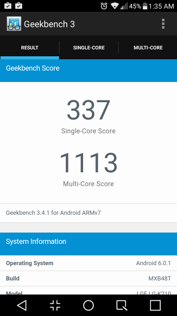 X-Power Geekbench