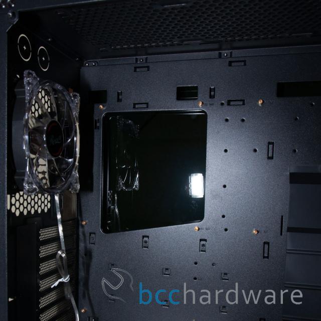 CPU Backplate Hole