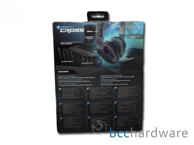 ROCCAT Cross Box - Back
