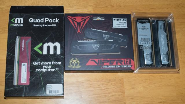 DDR4 Roundup