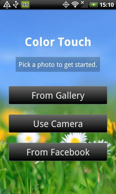 Color Touch Effects Main
