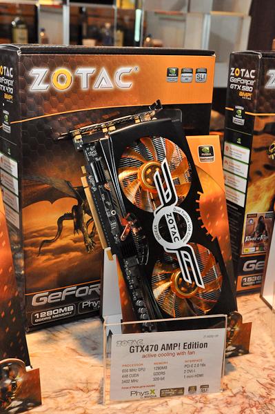 GTX 470 AMP! with Zalman Cooling