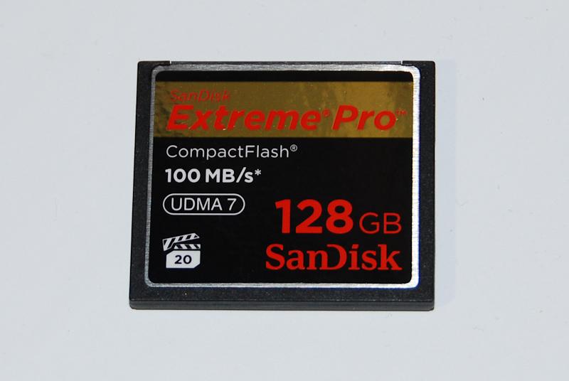 128GB CF 100MB/sec